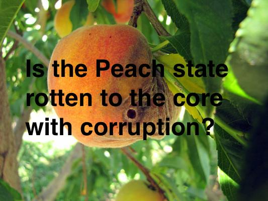 rotten peach