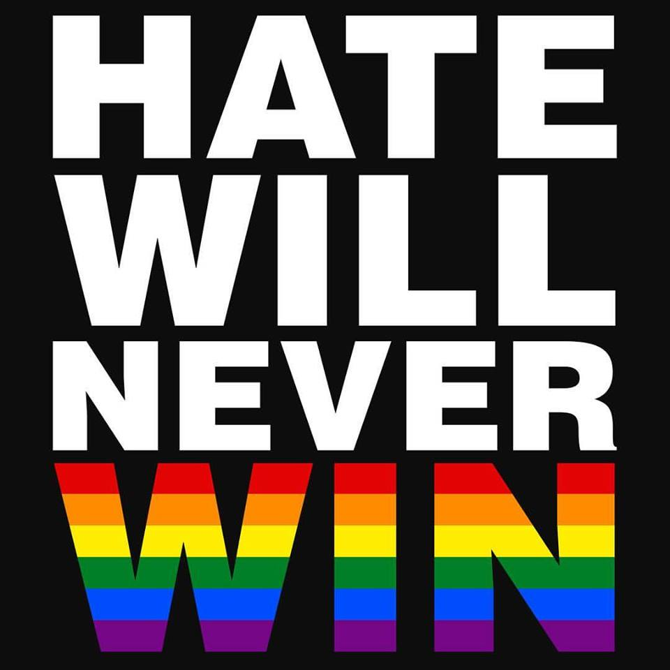 hate won't win